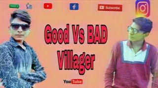Good Vs BAD Villager || Top Lokesh Team || Funny  video