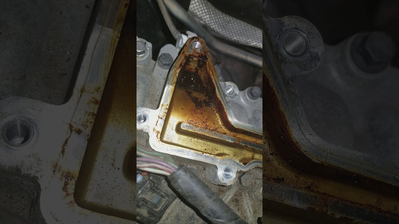 2009 Volvo XC90 WITH high-pitched squeal Oil Deflector/Oil Trap Replacement