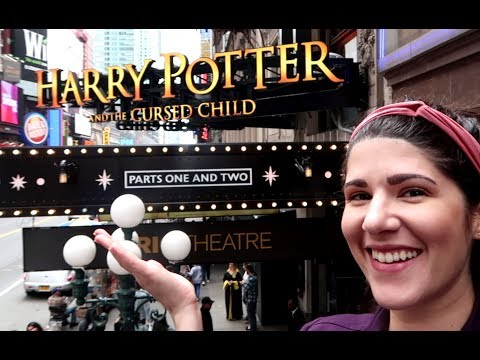 Harry Potter & the Cursed Child in New York City