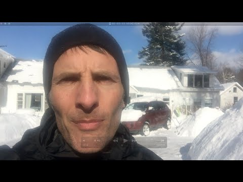 VLOG #24 - Surviving Winter - Kale - Troy, New York