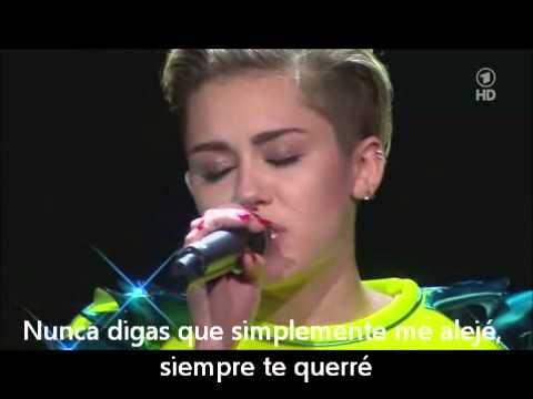 Wrecking Ball -Miley Cyrus (subtitulada en español)