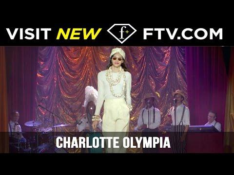 Charlotte Olympia Spring/Summer 2017 At London Fashion Week | FashionTV