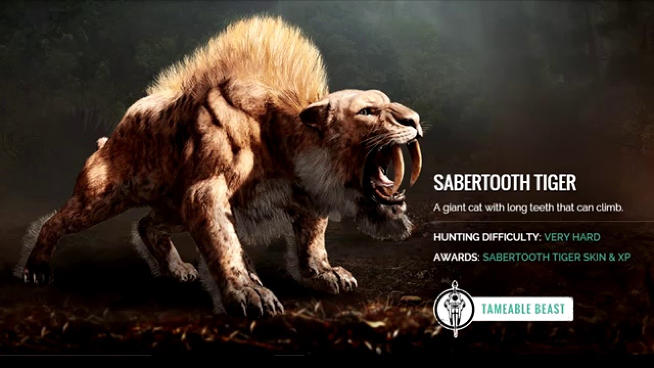 Far Cry Primal Animals You Can Tame Can T Tame Information