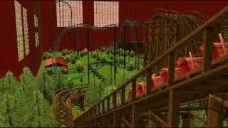 RCT3 Roller Coaster Tycoon 3 - Serpent 2