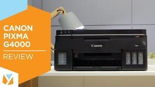 Canon Pixma G4000 Review