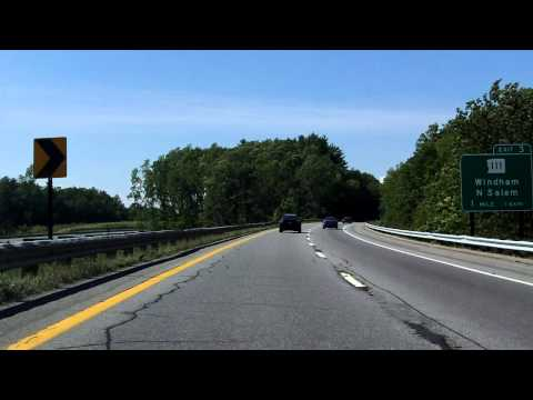 Alan Shepard Highway (Interstate 93 Exits 1 to 4) northbound