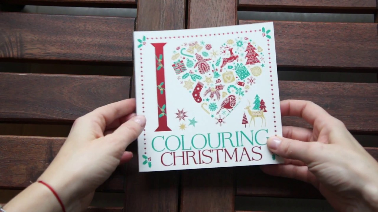 I Heart Colouring Christmas