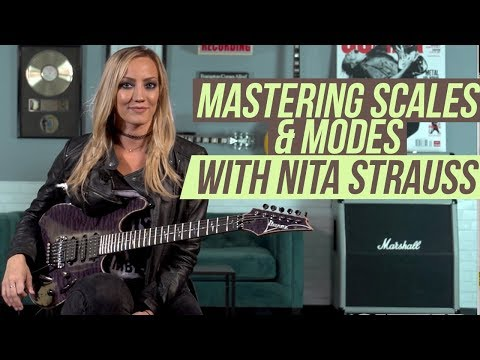 Nita Strauss Lesson - Mastering Scales & Modes with Three-Notes-Per-String
