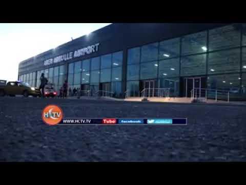 Mogadishu Airport 27 Sano kadib Diyaaradii ugu horeysay oo Rakaab Sida Ayaa Caawa ka Duushay Garoonk
