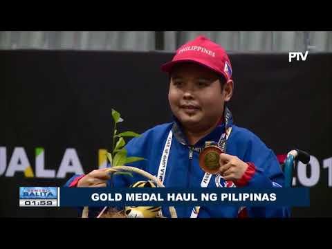 SPORTS BALITA: Gold medal haul ng Pilipinas