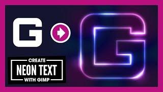 Create Glowing Neon Text with GIMP screenshot 5