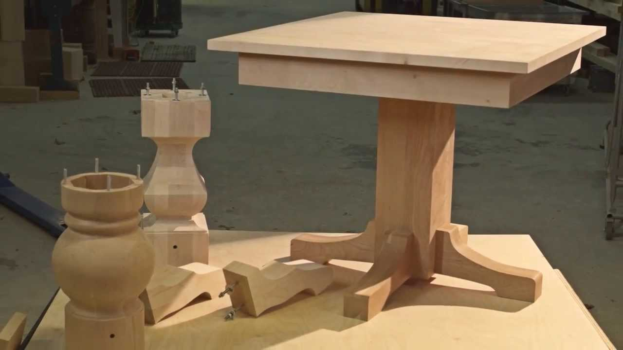 New Pedestal Table Kits   YouTube