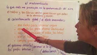 Top tips for gcse spanish students on the environment topic oral and writing. here's a link to books you can buy support your learning https://www...