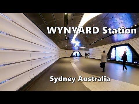 Wynyard Station - Sydney Australia | Sydney Trains