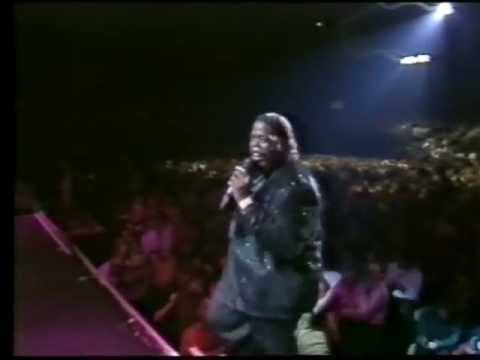 Barry White live in Birmingham 1988  Part 4  You See the Trouble With Me