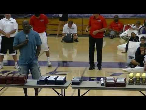 Award Ceremony Part 1- Michael Jordan Flight School Camp 2012