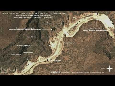 Suspected Tunnels and Underground Facility 5 km West of Shiraz Industrial Town IRAN