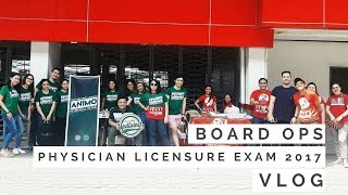 [VLOG] Physician Licensure Exam 2017 Board Ops | A Day In a Life Of a Med Student  |  Philippines.