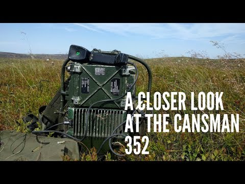 A Closer Look At The Clansman PRC-352 British MILITARY RADIO