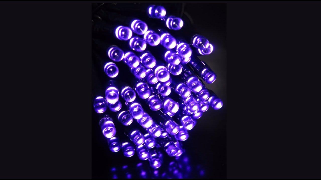 180 purple superbright twinkle led string light 9m christmas warehouse