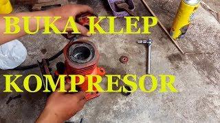 Buka klep kompresor