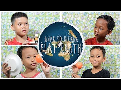 Kids Jaman Now Percaya Bumi Datar?   Flat Earth VS Globe Earth Conspiracy Teory