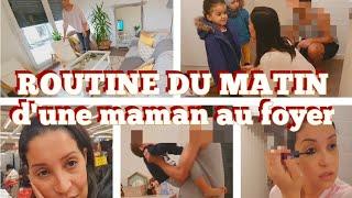 MORNING ROUTINE AVANT DÉPART POUR L'ÉCOLE  👨👩👧👦 VLOG FAMILLE 👨👩👧👦