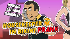 Housekeeper in Bikini Prank (ft. Abdo) - Ownage Pranks