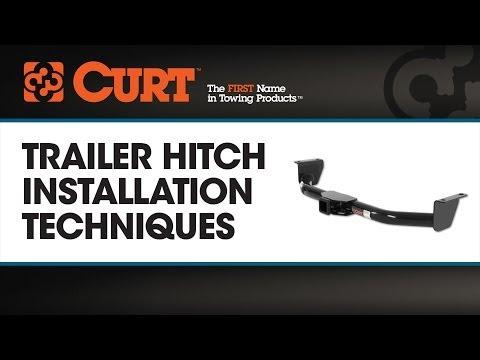 CURT Trailer Hitch Installation Techniques