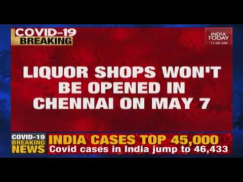Chennai Covid-19 Crisis: TASMAC Liquor Outlets In Chennai Will Not Open On May 7