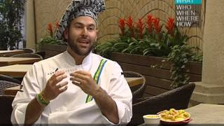Chef Paulo Machado talks about Brazilian food and show some ingredients of his cuisine!
