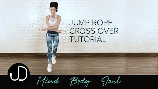 *HOW TO DO A JUMP ROPE CROSSOVER* Watch Janine Delaney's Jump Rope Crossover Tutorial
