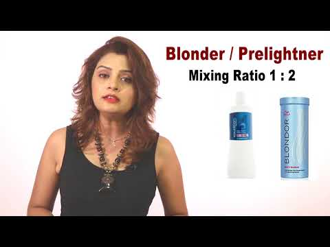 Color Theory Part-5 ,How To Use  Blonder , Stages Of Blonder....By Sam Ma'am  Tutorial In Hindi