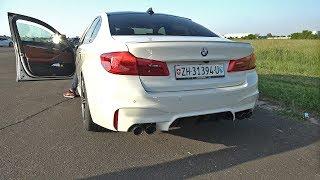 720HP BMW M5 F90 Gorilla Performance - REVS & DRAG RACING