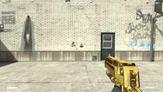 【SF2】DesertEagle Gold+Laser  試射動画