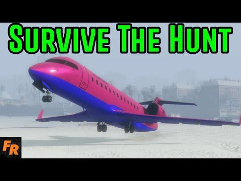 Gta 5 Challenge - Survive The Hunt 19