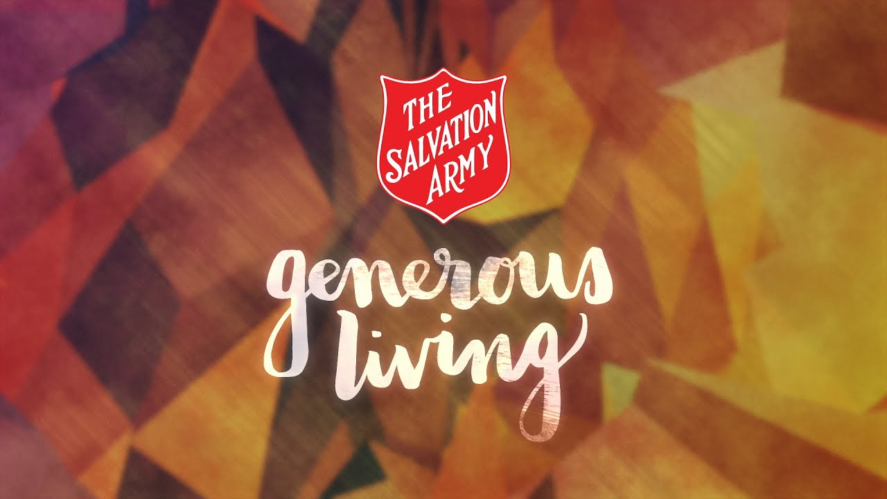 Generous living 39 generous living 39 week 1 youtube for Generous living