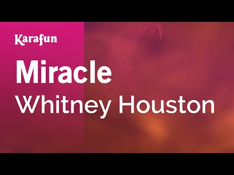 Karaoke Miracle - Whitney Houston *
