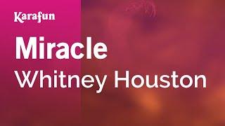 Karaoke Miracle - Whitney Houston *