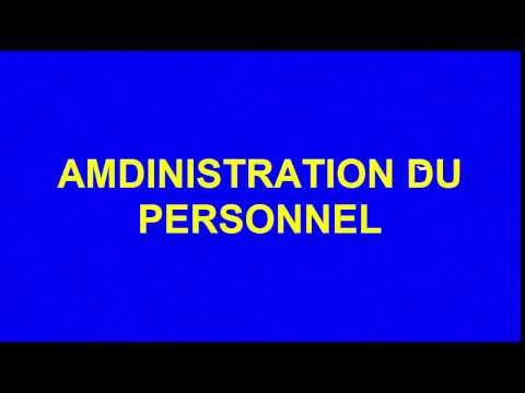 2-Administration du personnel(SBI,SNI,CNSS,AMO,Remboursement des emprunts,IR net) بالدارجة