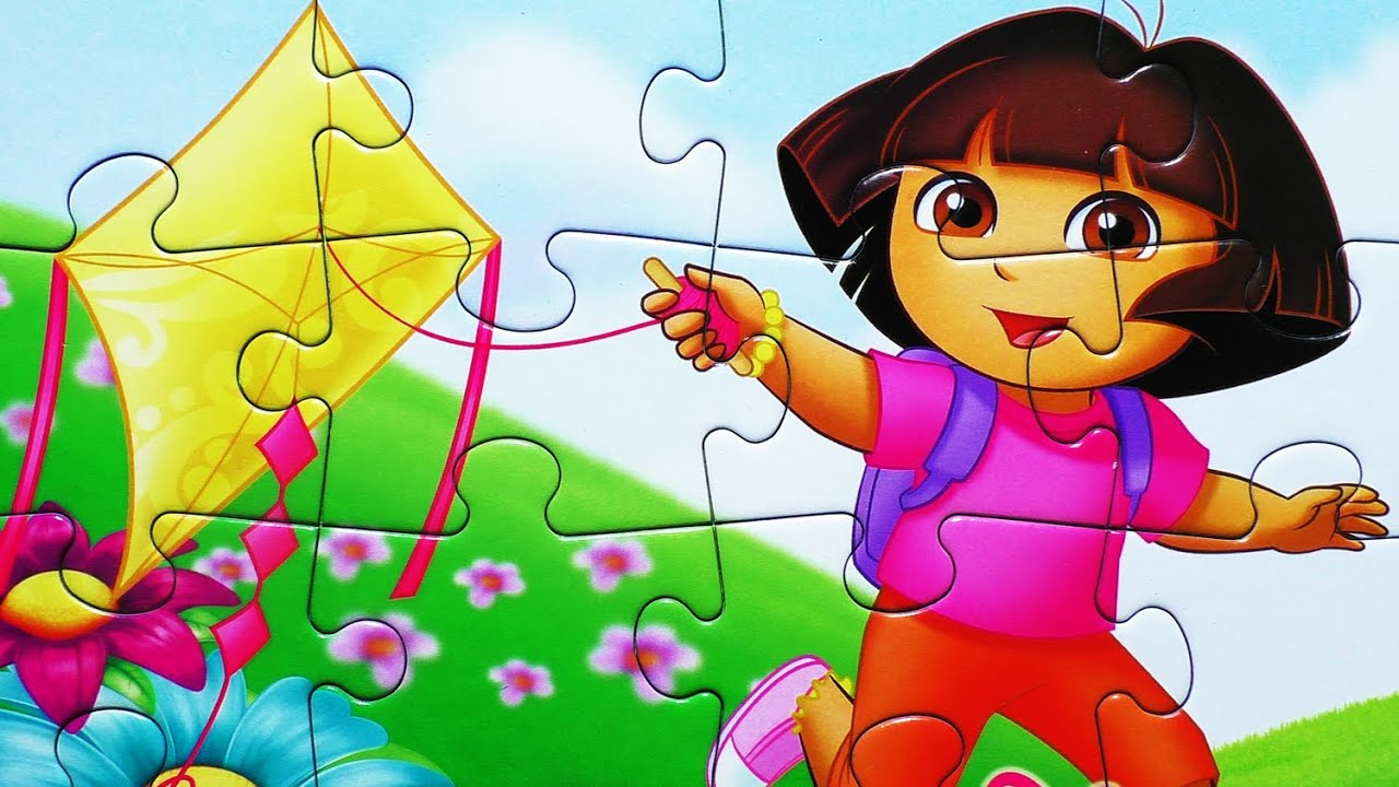 Dora The Explorer Puzzle Games Toys Learning Activities Rompecabezas Kids Puzzles