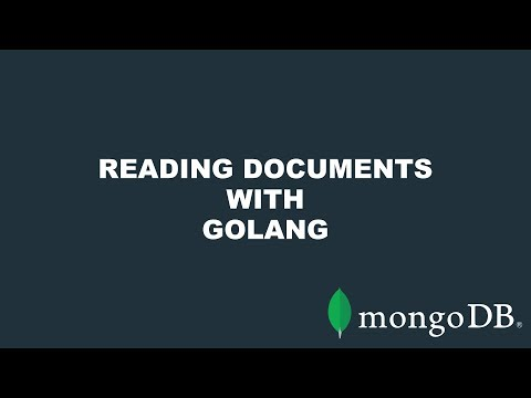 Quick Start: Retrieving and Querying MongoDB Documents with Go thumbnail
