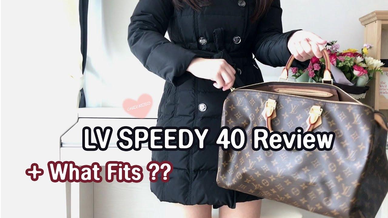 d7f815bc797 Louis Vuitton Speedy 40 Review