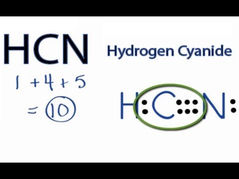 HCN Lewis Structure How to Draw the Lewis Structure for HCN - YouTube