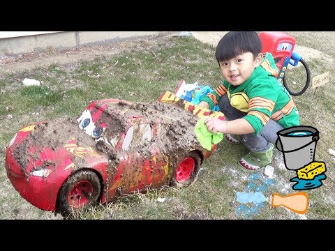 Disney Cars Lightning McQueen Car Wash