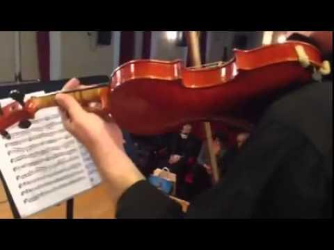 Massimo de Bonfils e Andrea Feroci, Conservatorio Santa Cecilia Roma, Sala Accademica, 18/3/2015