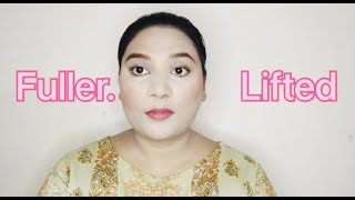 Fuller & Lifted Fące Technique || Amazing Makeup Tutorial || by Sabeen