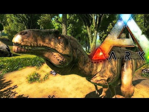 ARK Survival Evolved - ACROCANTHOSAURUS TAMING & EPIC FAILS, ARK GODS GIVE AND TAKE AWAY - Gameplay