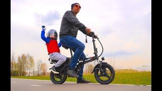 Семейный электровелосипед iconBit E-bike K202 Обзор, тест и конечно конкурс.