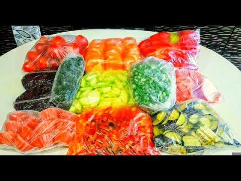 Заморозка Овощей на Зиму Как Заморозить Овощи и Зелень на Зиму